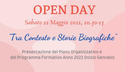 Open Day 22 maggio 2021